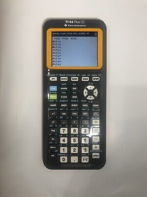 Texas Instruments TI-84 Plus CE Graphing Calculator No Cable No Cover