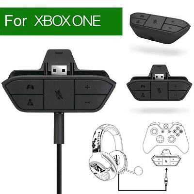 Audio Headset Adapter Stereo Headphone Converter for Xbox One Game Controller