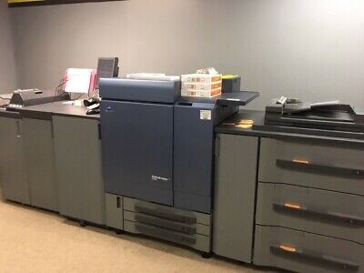 Konica Minolta Bizhub Press C8000 Color Copier Printer *1,7M copies/ $2K parts