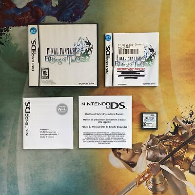 Final Fantasy Crystal Chronicles: Echoes of Time • Nintendo DS