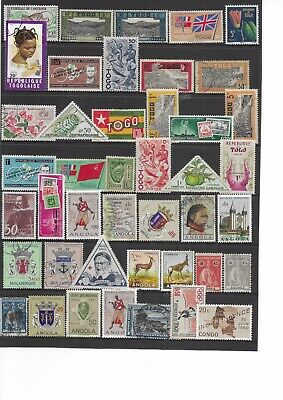 SOUTH AFRICA Stamps , French Colonies ,TOGO,ANGOLA