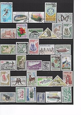 AFRICA Stamps,French Colonies,Senegal,Togo,Du Mali