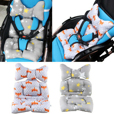 Newborn Baby Infant Head and Body Support Pram Stroller Car Seat Pad Cushion