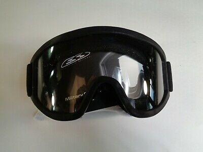 ESS Vehicle Ops Goggles Black Clear/Smoke Lens *BRAND NEW*