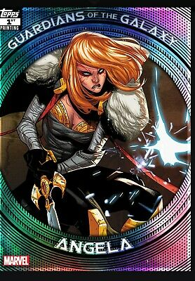 Topps Marvel Collect Guardians Of The Galaxy 1st Printing Angela (Digital)