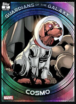 Topps Marvel Collect Guardians Of The Galaxy 1st Printing Cosmo (Digital)
