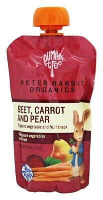 Peter Rabbit Organics - Organic Vegetable and Fruit Snack Beet, Carrot, and Pear