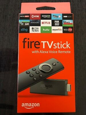 NEW Amazon Fire TV Stick (2nd Generation) with Alexa Voice Remote