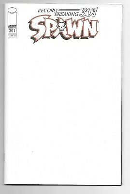 Image Comics SPAWN #301 first printing blank cover