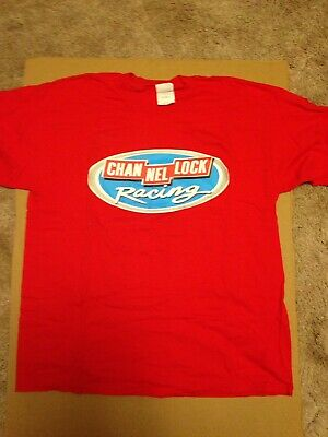 Vintage Marty Houston Channel Lock Racing T Shirt