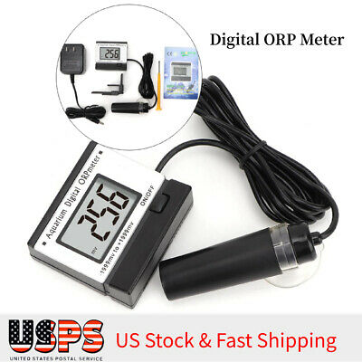 Water Quality Monitor Tester Mini Online ORP Digital Meter For Aquarium Pool US