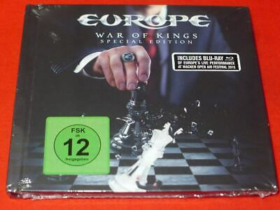 War of Kings [Special Edition] [Digipak] by Europe (2 Discs  Blu-ray)