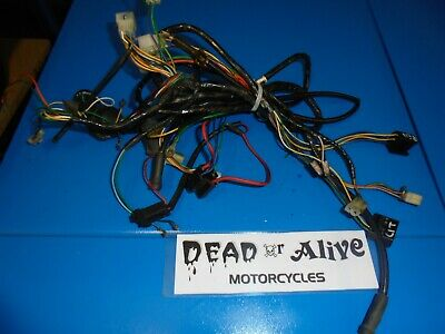 PEUGEOT VIVACITY 50cc  (2003)  COMPLETE WIRING HARNESS / LOOM