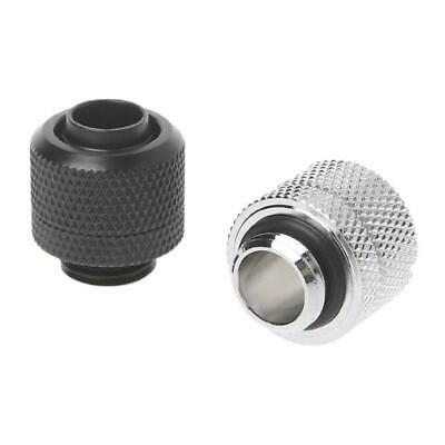 """G1/4  3/8""""ID X 1/2""""OD 9.5x12.7mm Tubing Hand Compression Fittings Water Cooling"""