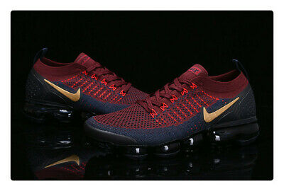 Nike Air VaporMax  Flyknit 2  Men's Running Shoes Red