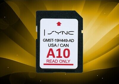 B8 FORD LINCOLN US MEXICO SYNC NAVIGATION SD CARD 2018 MAP UPDATE GM5T-19H449-BB