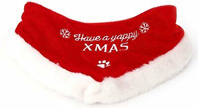 Christmas Festive Dog Cat Pet Bandana Collar Neckerchief Grooming Clothes Scarf