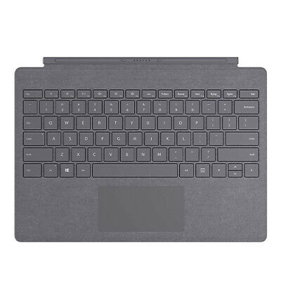 Microsoft Surface Pro Signature Type Cover Platinum - Full keyboard experience -