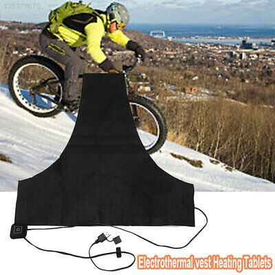 7958 USB Electric Heating Pad Vest Winter Durable Warmer Pads