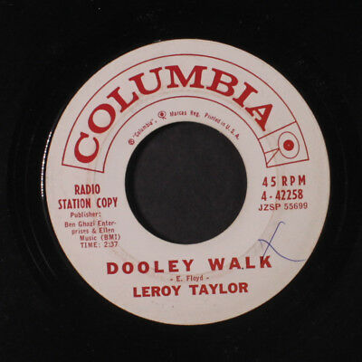 LEROY TAYLOR: Hey, I Like It / The Dooley Walk 45 (dj, xol, great and obscure d