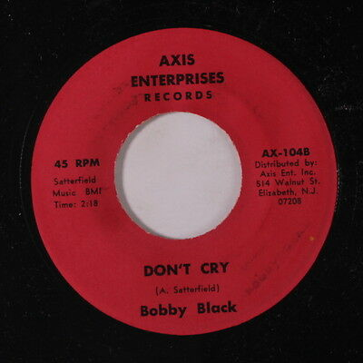 BOBBY BLACK: Don't Cry / Preacher's Daughter 45 Hear! (obscure Deep Soul) soul