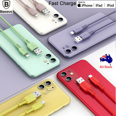 USB Lightning Charger Cable Cord For iPhone 11 Pro/XS Max/XR/X/8/7/6 iPad iPod