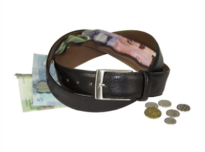 Bench Craft Leather Money Belt NEW hidden money, security, travel, high quality