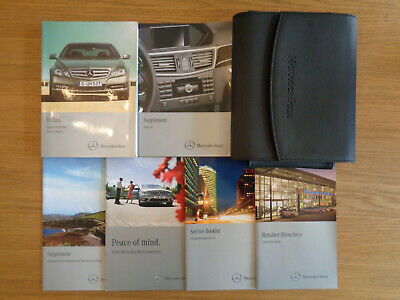 Mercedes Benz E Class Owners Handbook Manual and Pack 09-13