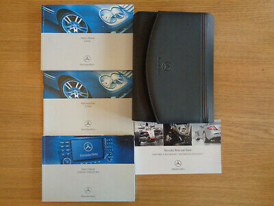 Mercedes SL Owners Handbook/Manual and Pack 06-08