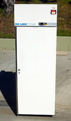 So-Low DHN4-24SD-0 Solid Door Pharmacy / Lab Refrigerator C-DHN4-24SD-0
