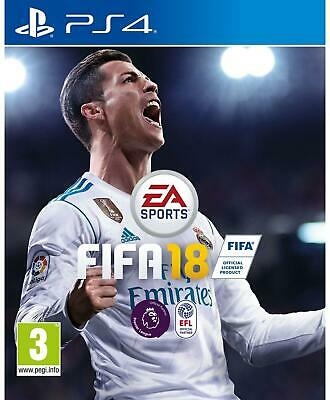 NEW Sealed Original EA Sports FIFA 18 for Sony Playstation 4 PS4 Football Game