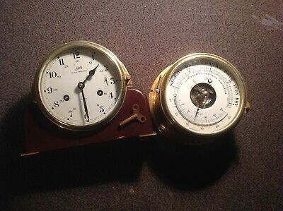 Schatz, Royal Mariner, Ships Clock & Barometer,