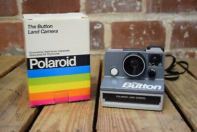 Polaroid The Button Land Camera SX-70 Instant Camera