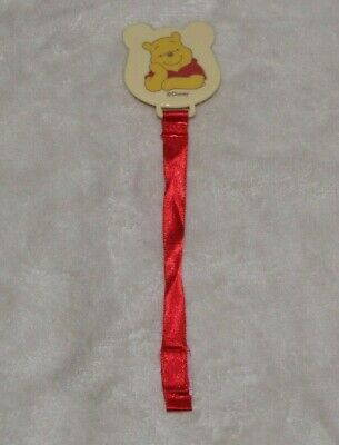 Cute Winnie the Pooh Baby Infant Pacifier Clip Holder
