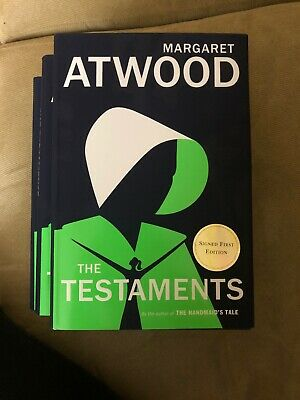 MARGARET ATWOOD SIGNED - THE TESTAMENTS - Limited First Edition HANDMAID'S TALE