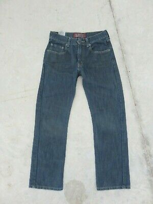 Mens Boys Levis Size 16R 28x28 Blue Jeans 514 Slim straight Medium wash Denim