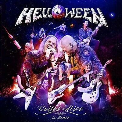 United Alive In Madrid - 3 DISC SET - Helloween (CD New)