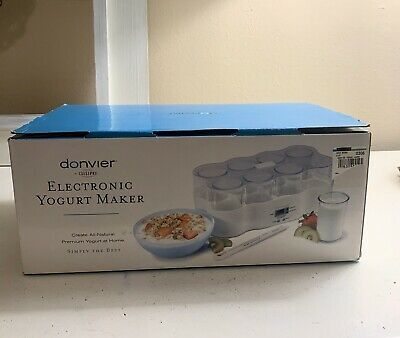 Cuisipro Donvier Electronic Yogurt Maker - New