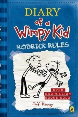 Diary of a Wimpy Kid: Rodrick Rules (Book 2) by Jeff Kinney 9780141324913