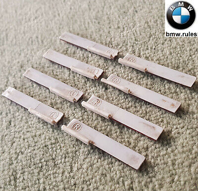 8x Genuine BMW 5 Series E39 Roof Bars Channel Gutter Protector Self-Adhesive 3M