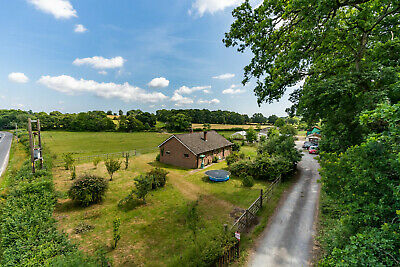 New Forest smallholding Livestock Equestrian 17.3 acres Farm buildings Bungalow
