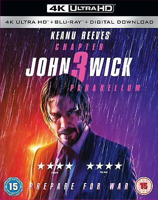 John Wick: Chapter 3 - Parabellum 4K [Blu-ray] [2019]
