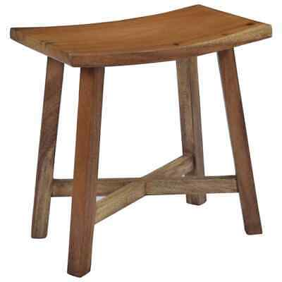Small Bathroom Stool Rustic Wooden Table Side Storage Cabinet Shower Chair Seat