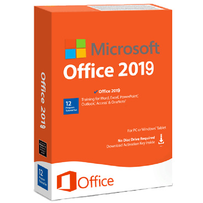 Licencia original clave de producto de Microsoft Office 2019 Pro Plus 32/64Bit