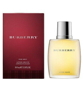 BURBERRY FOR MEN After Shave Lotion Dopobarba uomo 100ml NUOVO e ORIGINALE