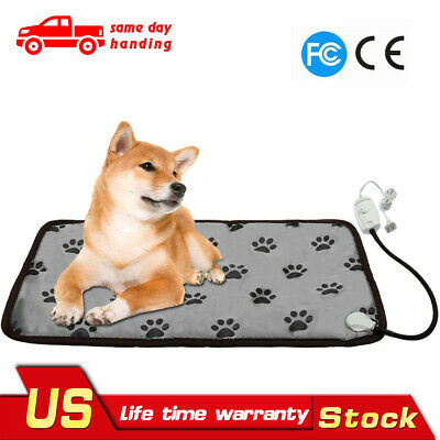 Waterproof Electric Heating Pad For M L Size Dog long Lasting Dog Pet Mat