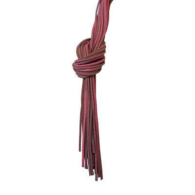 """72"""" Bulk Genuine Leather Heavy Duty Boot Lace - Pink"""