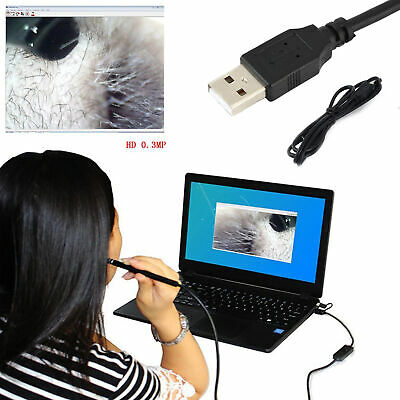 Waterproof IP67 USB Android Endoscope 6 LED Borescope Ear Cleaning Earpick Spoon