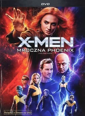 X-Men: Mroczna Phoenix (X-Men: Dark Phoenix) - Booklet Dvd