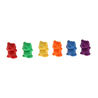 Bear Counters for Maths 180 pcs Different Colours Counting Markers Pieces